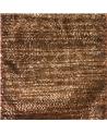 Fita Organza Aramada c/ Riscas Tom Bronze 65mm - Bronze - 65mmx10mts - FT4576
