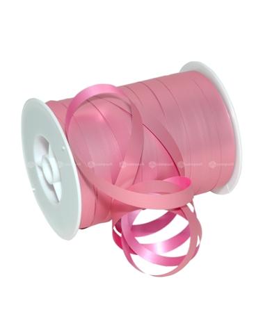 Rolo de Fita Metalizada Mate Rosa 10mm - Rosa - 10mmx250mts - FT4824