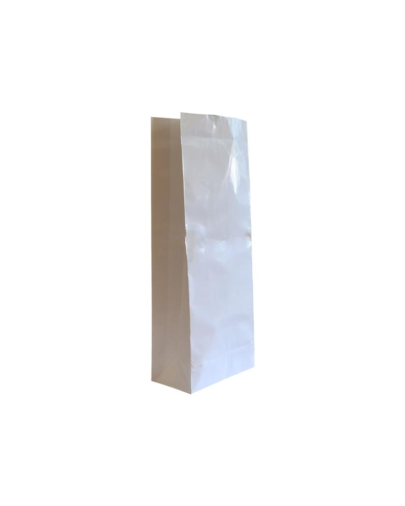 Saco S/Pala PP Couché Branco 18+10x47 - Branco - 18+10x47cm - SC2518