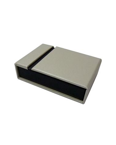 Caixa Linha Perola p/ 2 Alianças - Branco - 8.2x5.8x2.3cm - EO0531