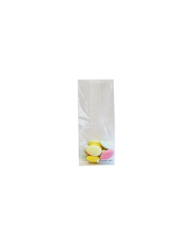 Saco Celofane s/ Imp.  125gr - Transparente - 6.5x5x17cm - ASC0105