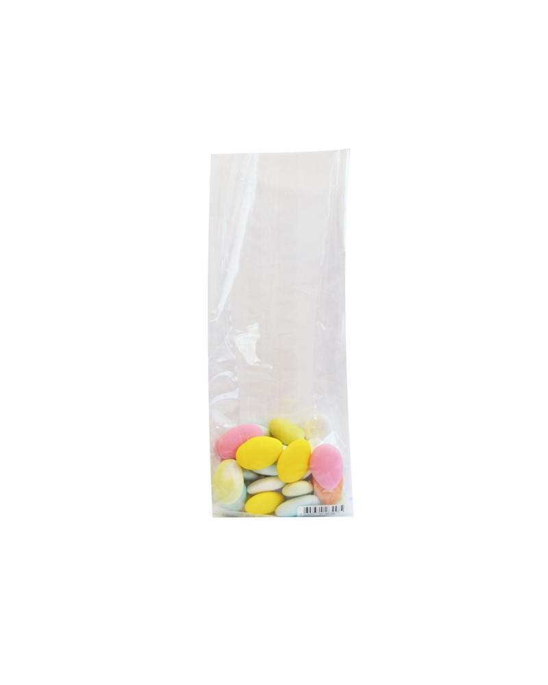 Saco Celofane s/ Imp.  500grs - Transparente - 8x5x24cm - ASC0107