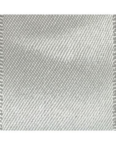 Rolo Fita Cetim Dupla Face Prateado - Prateado - 25mmx25mts - FT5291