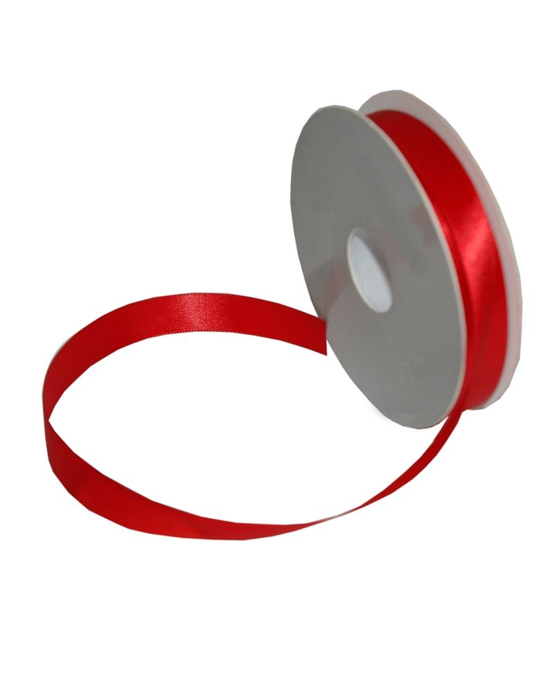Rolo Fita Cetim Dupla Face Vermelho - Vermelho - 16mmx25mts - FT5292