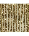 Fita Organza Dourado Riscas Brilhantes - Dourado - 38mmx10y - FT5236