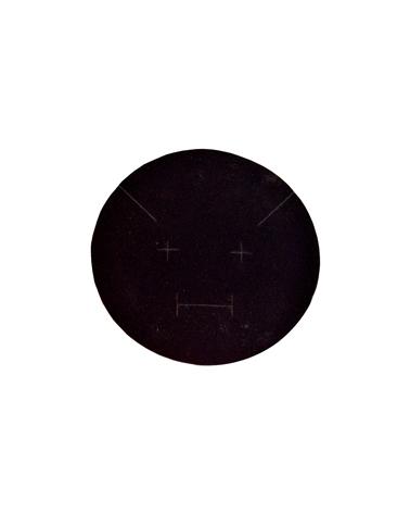 Caixa Linha Round Black Glossy para Colar - Preto - 15.9x15.9x3cm #1 - EO0717