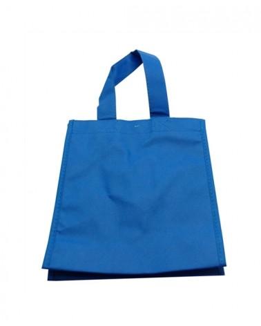 Saco TNT Azul c/Asa 20+8x25 - Azul - 20+8x25 - SC2961