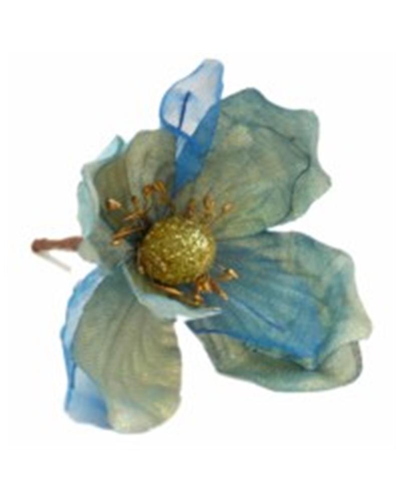 Haste Pequena Flor Azul Claro (6) - Azul Claro - 17cm - DVC0175