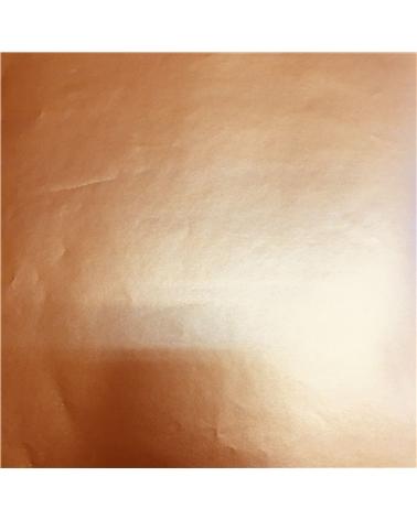 Papel Dupla Face Dourado c/Arabescos - Dourado - 70x100cm - PP2410