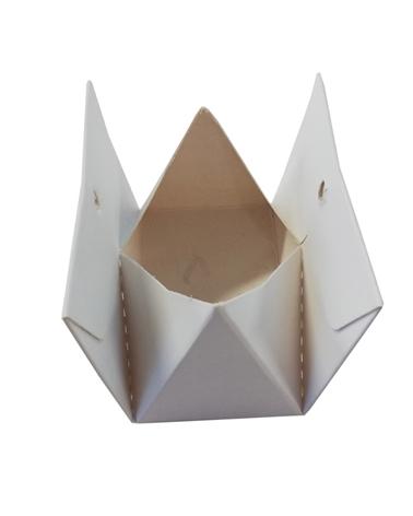 Caixa Branca Mini Carteira c/Furo - Branco - 7x4x4cm #1 - EO0608