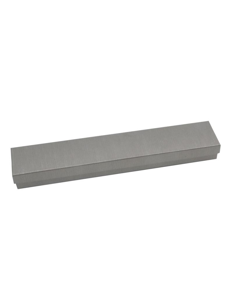 Caixa Linha Hematite p/ Pulseira - Prateado - 22.8x4.4x2.3cm - EO0629