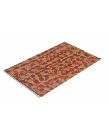 Saco c/ Pala Polipropileno Vermelho/Dourado 10x15cm (1000) - Vermelho/Dourado - 10x15cm - SC2409