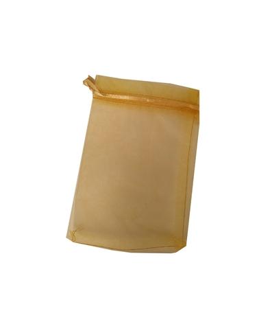 Saco Organza Dourado - Dourado - 11x16 - EO0524