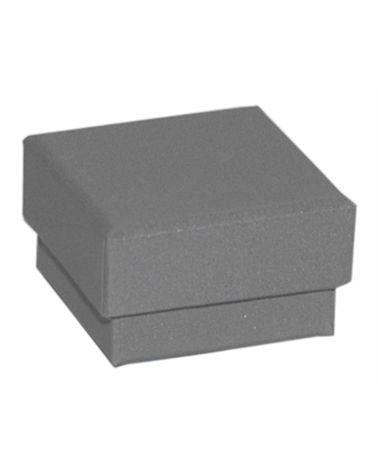 Caixa Linha 925 Silver p/ Brincos - Prateado - 4.6x4.6x2.6cm - EO0676