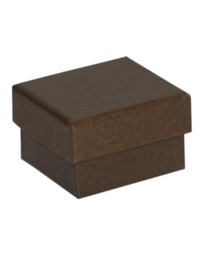 Caixa Linha Ambar p/ Anel - Dourado - 5.2x4.8x3.2cm - EO0677