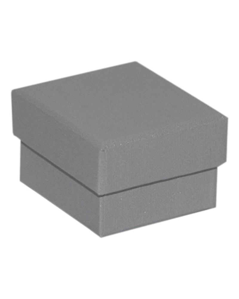 Caixa Linha 925 Silver p/ Anel - Prateado - 5.2x4.8x3.2cm - EO0680