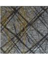 Saco Organza Xadrez Preto - Preto - 6X9cm - EO0238