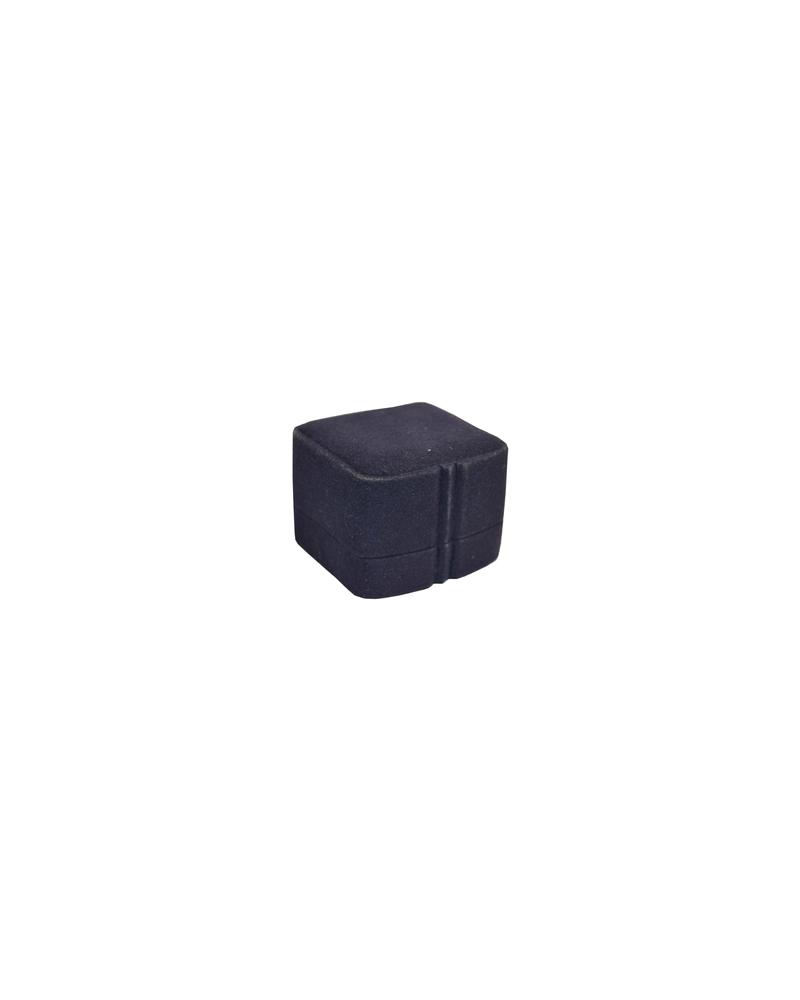 Caixa Veludo Azul Brincos - Azul - 5.5X6X4.5 - EO0149