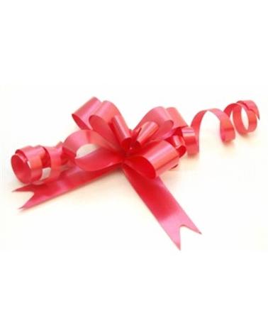 Laço de Puxar de Seda Vermelho 12mm - Vermelho - 12mm - LÇ0391