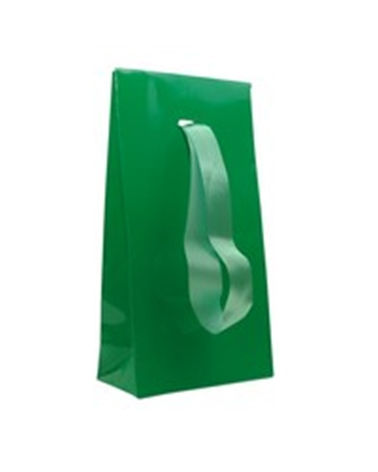 SC C/ FITA VERDE CL. PLAST. 08+04X15 (500) - Verde - 08+04X15cm - PR0047