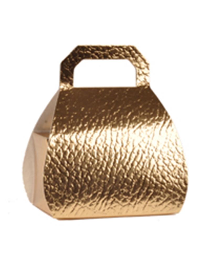 Caixa Pelle Oro Borsa H.80 - Dourado - 80mm - CX3250