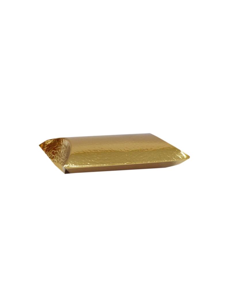 Caixa Pelle Oro Busta - Dourado - 70x70x25mm - CX3251