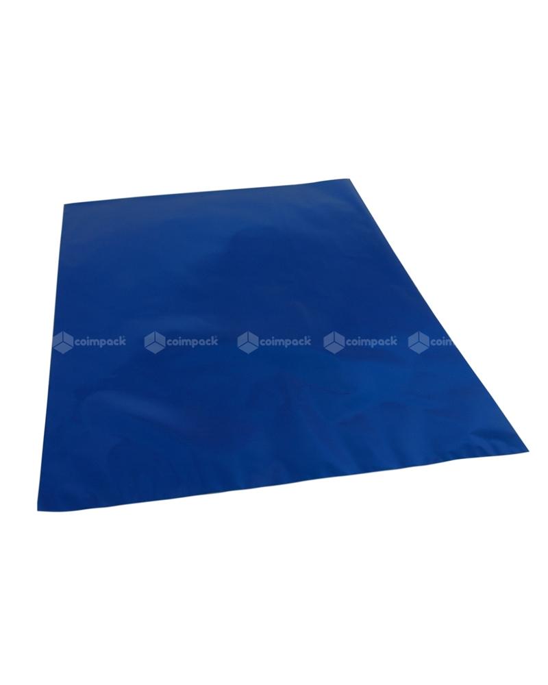 Saco c/ Pala Metalizado Fundo Azul - Azul - 35x50 - SC3102