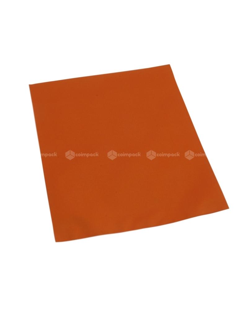 Saco c/ Pala Metalizado Mate Fundo Laranja - Laranja - 12x17.5 - SC3115
