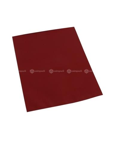 Saco c/ Pala Metalizado Mate Fundo Bordeaux - Bordeaux - 12x17.5 - SC3117