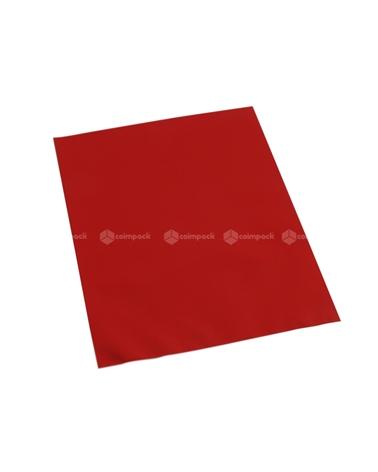 Saco c/ Pala Metalizado Mate Fundo Vermelho - Vermelho - 12x17.5 - SC3118