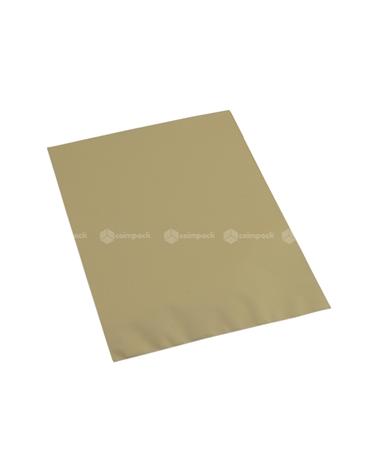 Saco c/ Pala Metalizado Mate Fundo Dourado - Dourado - 12x17.5 - SC3119