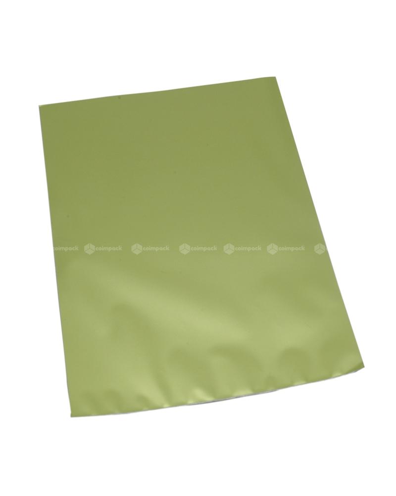 Saco c/ Pala Metalizado Mate Fundo Verde Claro - Verde - 12x17.5 - SC3123