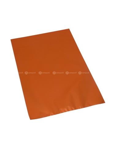 Saco c/ Pala Metalizado Mate Fundo Laranja - Laranja - 16x25 - SC3125