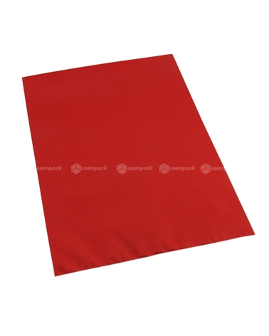 Saco c/ Pala Metalizado Mate Fundo Vermelho - Vermelho - 16x25 - SC3128