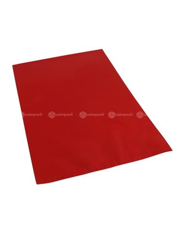Saco c/ Pala Metalizado Mate Fundo Vermelho - Vermelho - 25x40 - SC3138