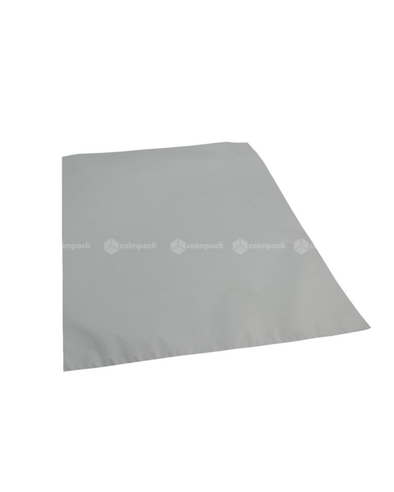 Saco c/ Pala Metalizado Mate Fundo Prateado - Prateado - 35x50 - SC3152