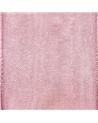 Rolo Fita Organza Aramada Rosa - Rosa - 25mmx20mt - FT5177