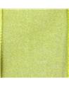Rolo Fita Organza Aramada Verde Claro 40mmx20mts - Verde - 40mmx20mts - FT5172