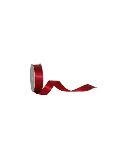 Rolo Fita Cetim Dupla Face Bordeaux 25mm - Bordeaux - 25mmx25mts - FT5301