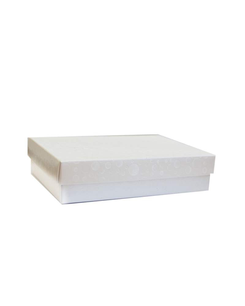 Caixa Sfere Bianco F/C -dp - Branco - 130x90x40mm - CX3571