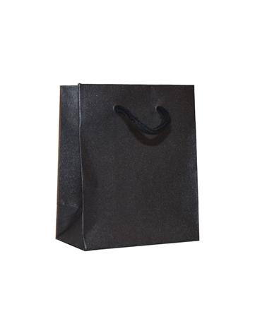 Saco Asa Cordão Linha Agata Negra - Preto - 11.5+6.5x14 - SC3352
