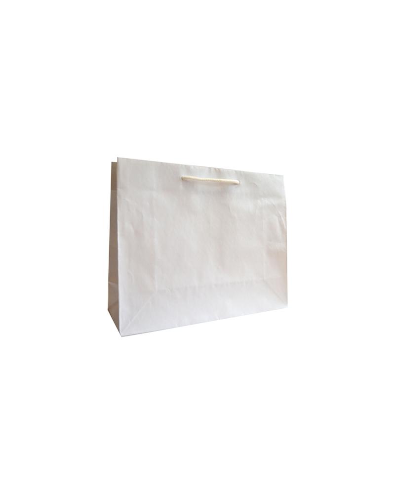 Saco Asa Cordão Linha Perola Branca - Branco - 32+11.5x26 - SC3377
