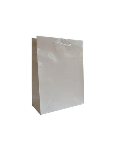 Saco Asa Cordão Gofrado Branco - Branco - 22+10x29 - SC3260