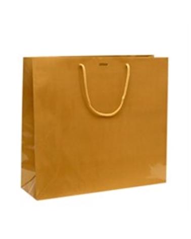 Saco Asa Cordão Dourado com Corte para Fita - Dourado - 40+12x36 - SC0898