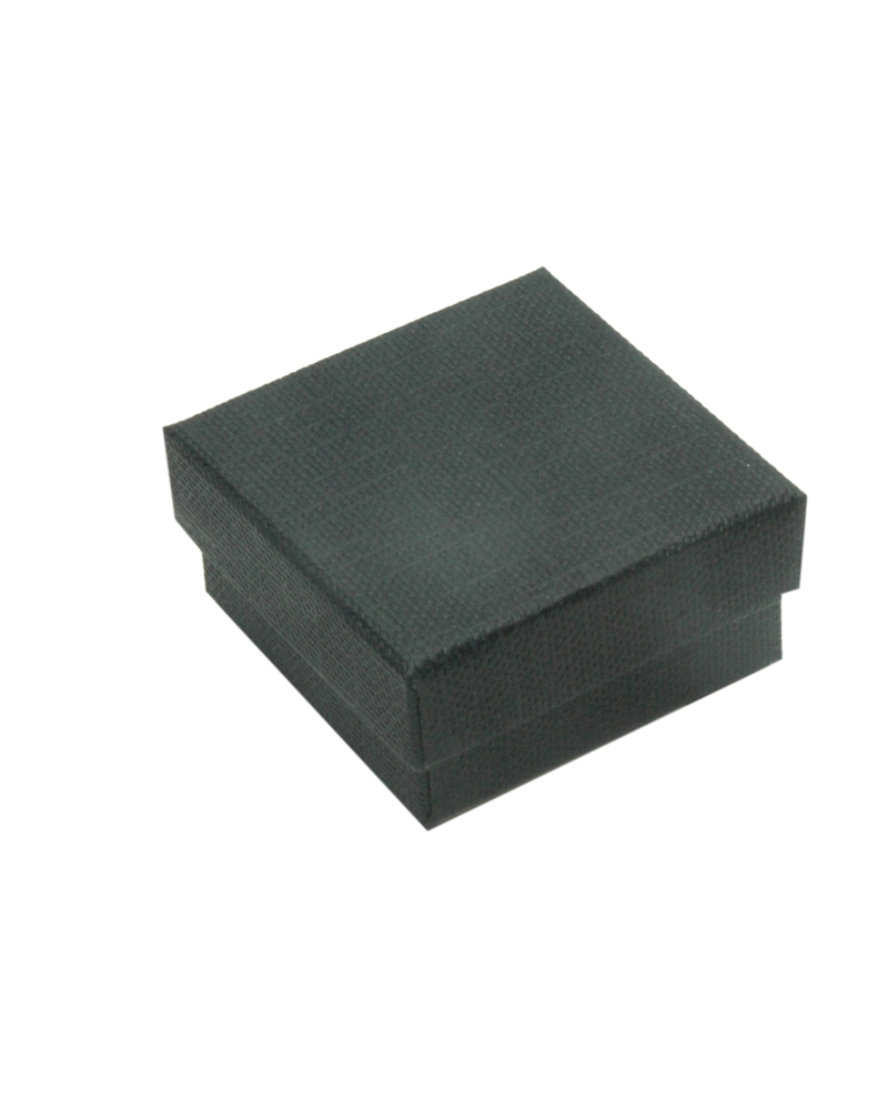 Caixa Linha Black Stripes p/ Brincos - Preto - 4x4x2cm - EO0635
