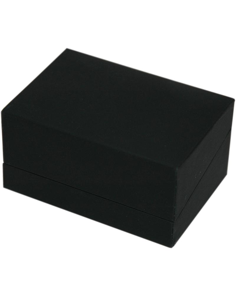 Caixa Linha LX Black Mate p/ Brincos - Preto - 7.5x5x3.8cm - EO0653