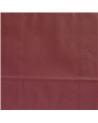 Saco Asa Retorcida Branco Liso Fundo Bordeaux - Bordeaux - 24+12x31 - SC3393