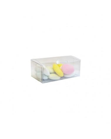 Caixa Transparente Automontante - Transparente - 80x40x30mm - CX3429