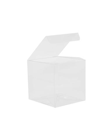 Caixa Transparente Automatico 90x90x90 - Transparente - 90x90x90mm - CX3432