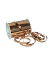 Rolo Fita Metalizada Cobre 10mm - Cobre - 10mmx250mts - FT4818